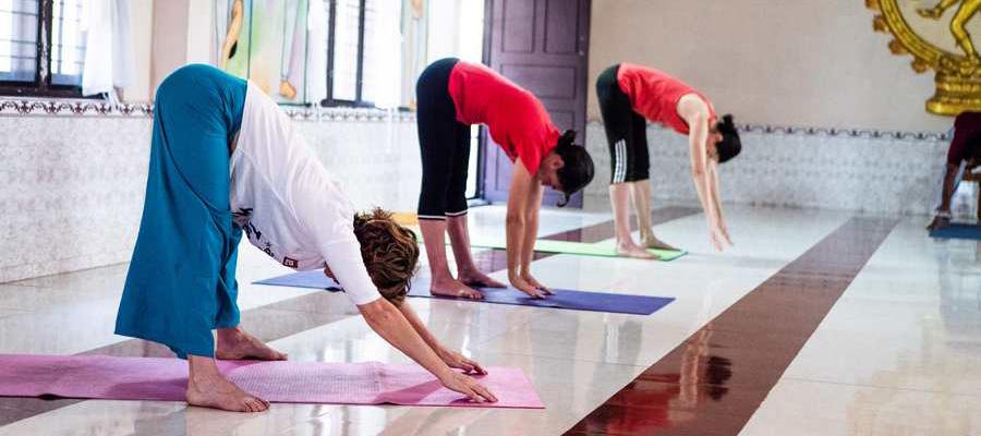 Pratique de yoga
