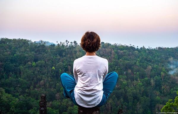 chamundi medtation montagne